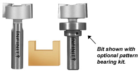 Dado and planer router bits can clean out dadoes, rout signs, finish rough stock and even remove paint or varnish