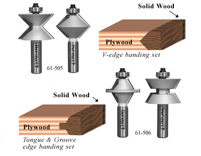 Finish your plywood, particle board or MDF projects with a real hardwood edge banding